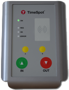 TimeSpot® TS05 with built in GPRS from 2016